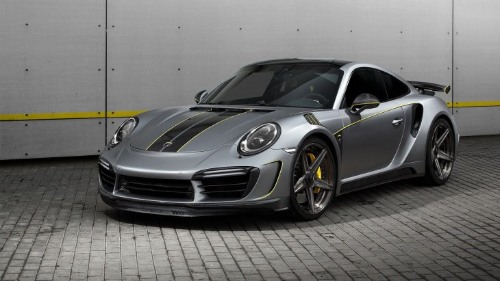 750-сильное купе Porsche 911 Turbo S by TopCar