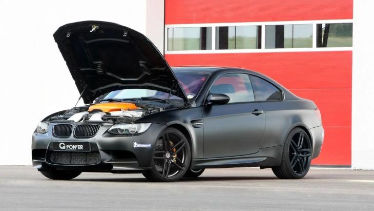 «Заряженное» купе BMW M3 E92 by G-Power