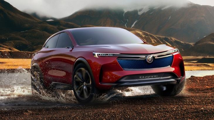 Концептуальный кроссовер Buick Enspire Concept