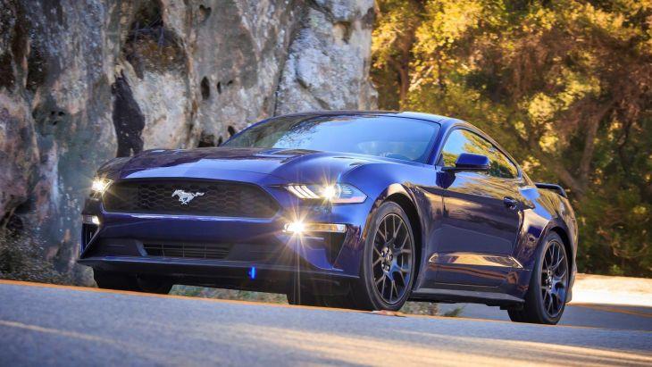 Ford Mustang актуального поколения
