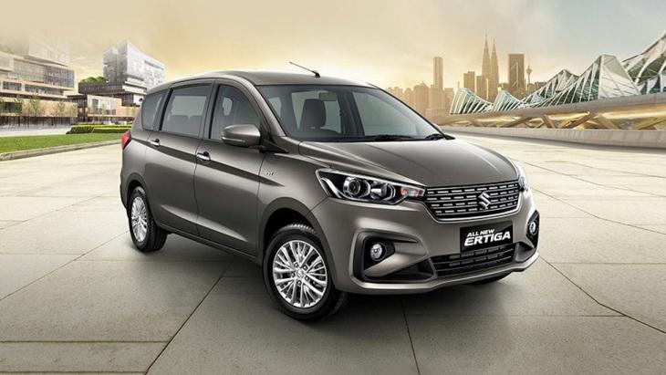 Компактвэн Suzuki Ertiga нового поколения