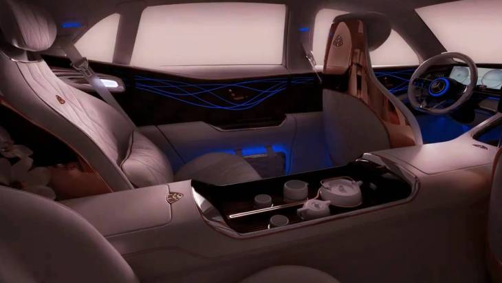 Тизер концепта Vision Mercedes-Maybach Ultimate Luxury