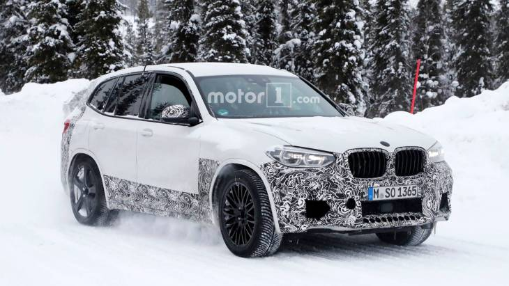 Прототип «заряженного» кроссовера BMW X3 M