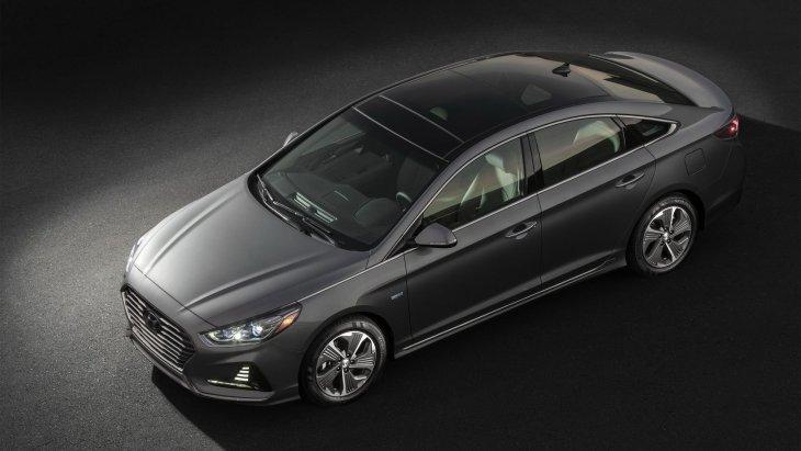 Обновлённый гибридный седан Hyundai Sonata Hybrid