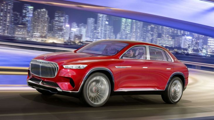Концепт Vision Mercedes-Maybach Ultimate Luxury