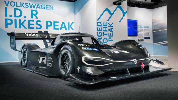 Спортивный электрический прототип Volkswagen I.D. R Pikes Peak