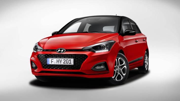 Обновлённый Hyundai i20 2018 модельного года