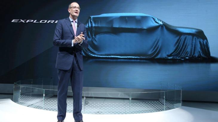 Тизер внедорожника Ford Explorer нового поколения