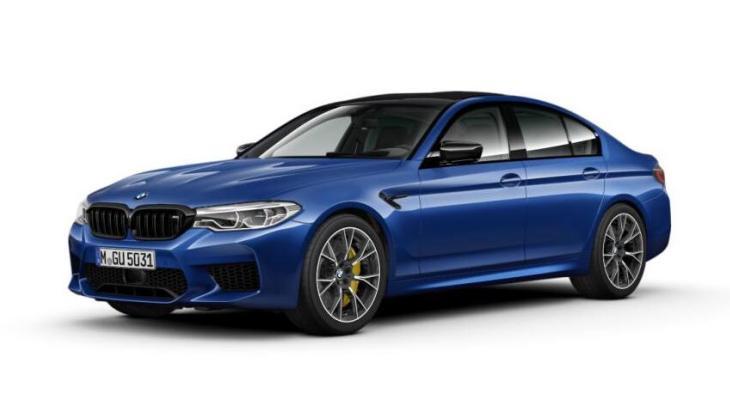 «Заряженный» седан BMW M5 Competition Package