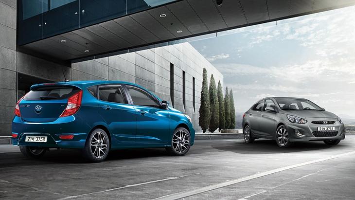 Обновлённый Hyundai Accent 2018 модельного года