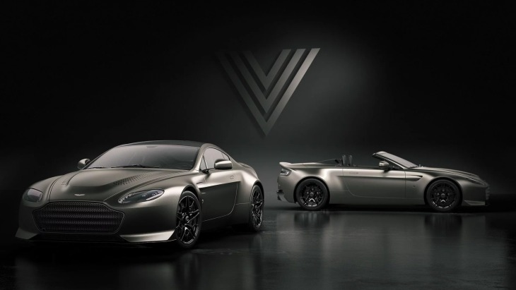 Aston Martin V12 Vantage V600 и Aston Martin V12 Vantage V600 Roadster