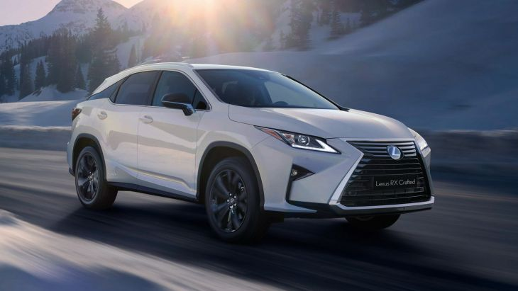 Кроссовер Lexus RX Crafted Limited Edition