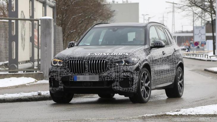 Кроссовер BMW X5 нового поколения