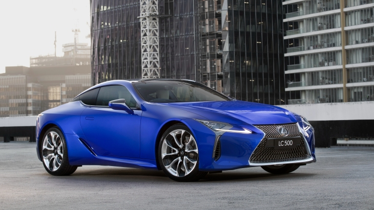 Купе Lexus LC 500 Morphic Blue Limited Edition