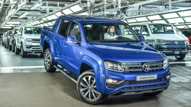Пикап Volkswagen Amarok Aventura