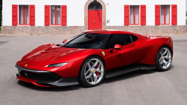 Уникальный суперкар Ferrari SP38