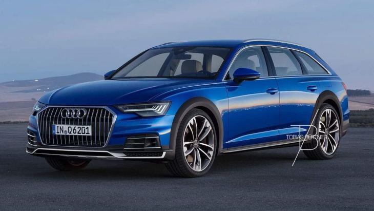 Независимый рендер универсала Audi A6 Allroad нового поколения