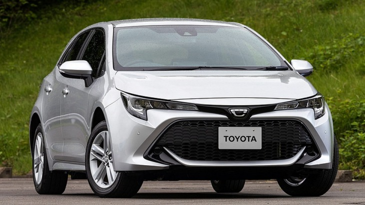 Компактный хэтчбек Toyota Corolla нового поколения