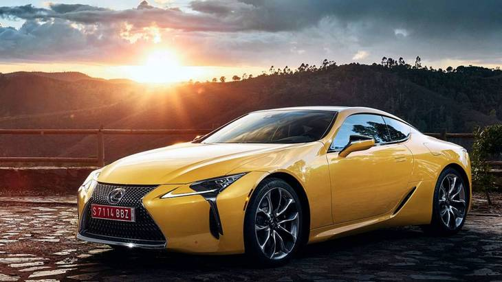 Lexus LС500 Yellow Edition