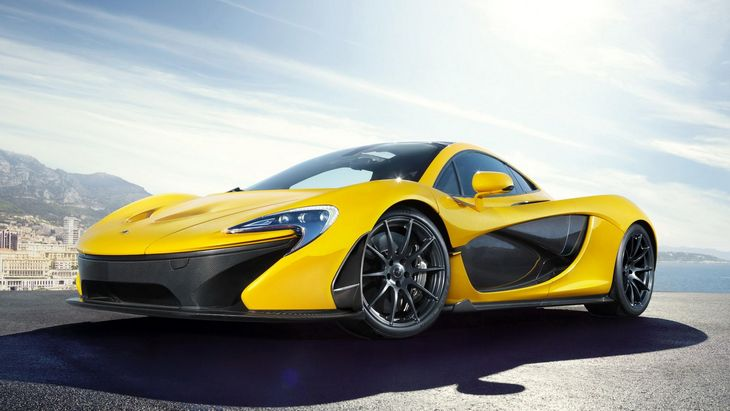 McLaren Electric Supercar