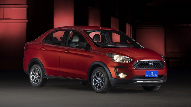 Ford Ka Urban Warriror Concept