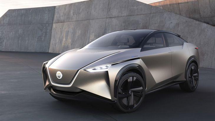 Nissan зарегистрировал торговые знаки для новых электрических кроссоверов