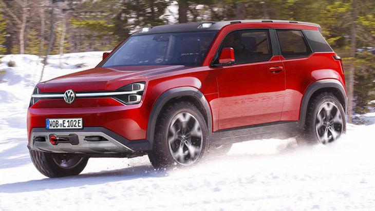 Volkswagen в 2022 году выпустит полноценный внедорожник
