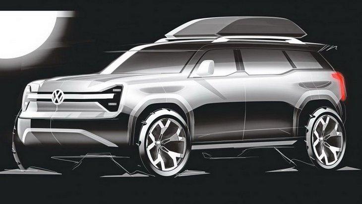 Volkswagen развивает идею с электрическим внедорожником для борьбы с Jeep