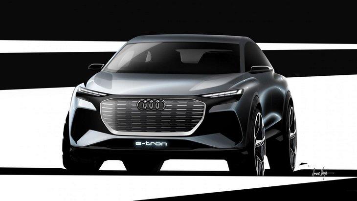 Audi покажет в Женеве концепт электрического Q4 e-tron