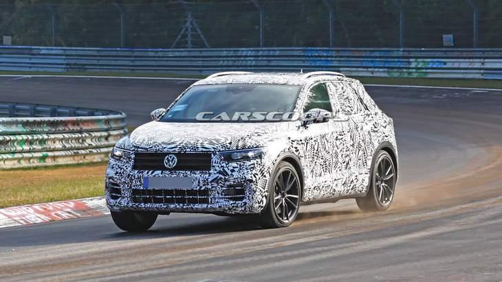 Volkswagen подготовит концепт заряженного T-Roc R для автосалона в Женеве