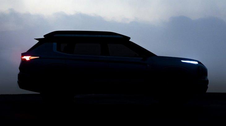 Mitsubishi представит в Женеве новый внедорожник Engelberg