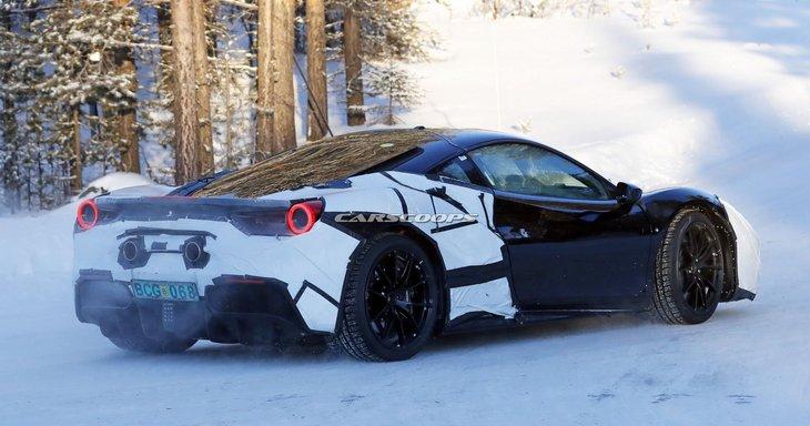 Ferrari работает над своей первой гибридной моделью
