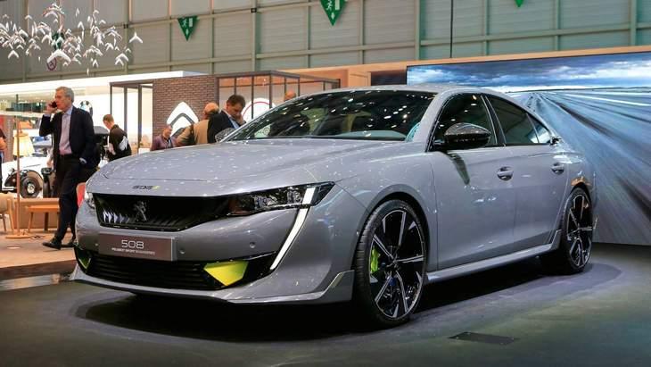 Peugeot обещает запустить в серию спортивный концепт 508 Sport Engineered