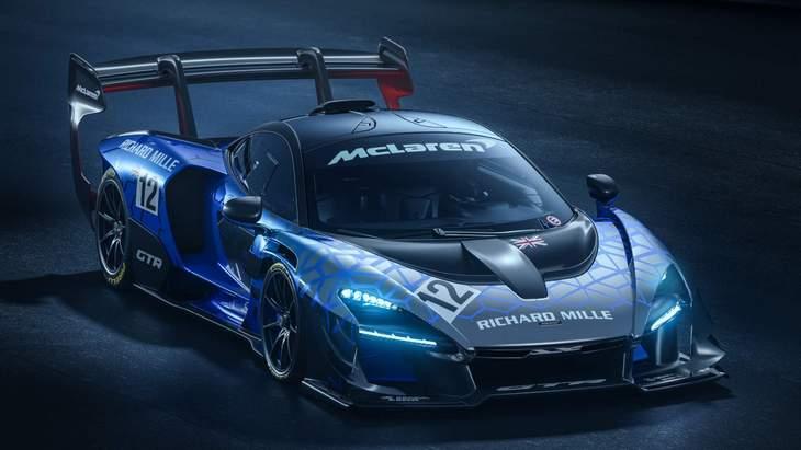 Быстрее только болид Ф-1. McLaren представил новейший Senna GTR