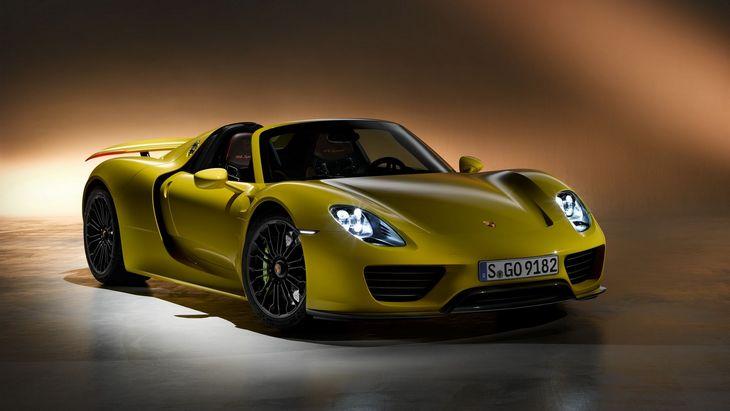 Porsche выпустит преемника 918 Spyder