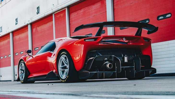 Ferrari выпустила уникальный гоночный суперкар