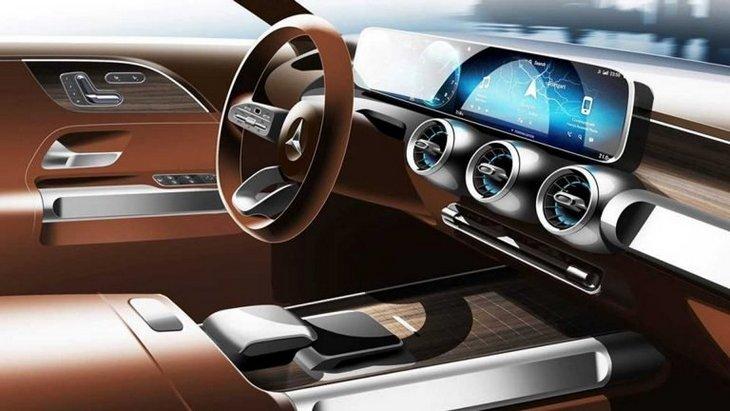 Mercedes покажет в Шанхае концепт кроссовера GLB