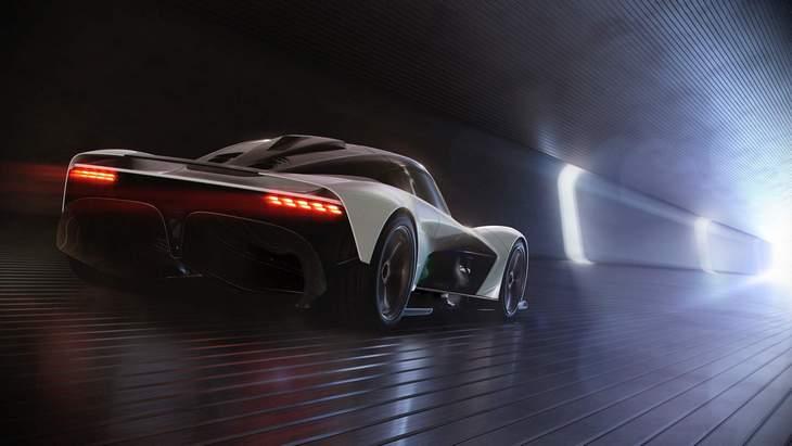 Новые подробности уникального гиперкара AM-RB 003 от Aston Martin
