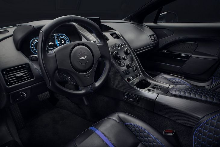 Aston Martin показал уникальный электрический спорткар Rapid E