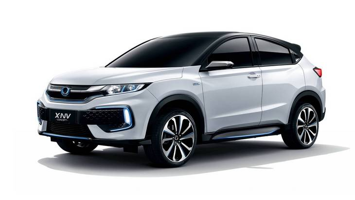 Honda запустит на рынок Китая электрический кроссовер на базе HR-V