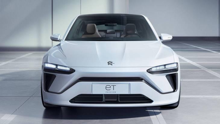 Китайская Nio ET Preview — будущий конкурент Tesla Model 3