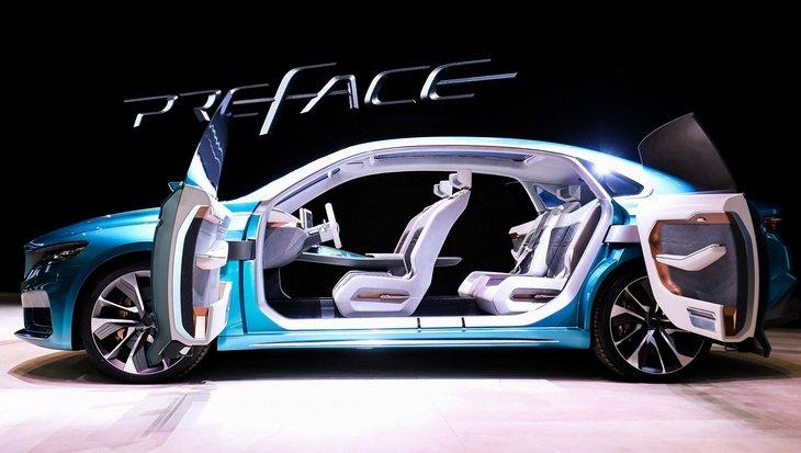Новый спортивный седан от Geely. Компания представила концепт Preface