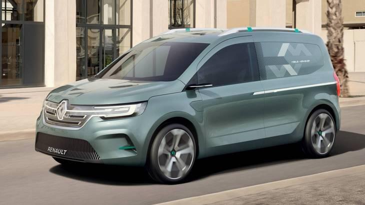 Renault сделает из Kangоo полностью электрическую версию