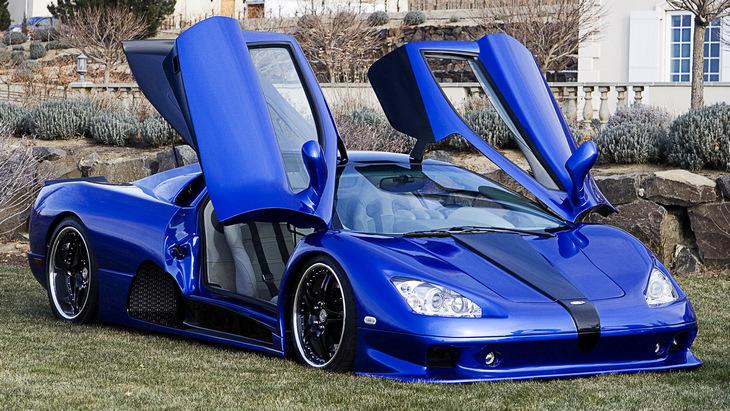 Топ-5 самых быстрых легальных суперкаров в мире