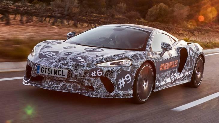 McLaren обьявил дату официальной премьеры новейшего суперкара Grand Tourer