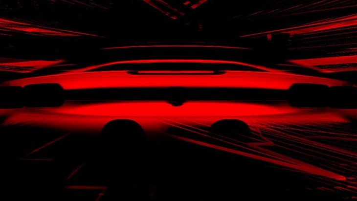 Ferrari показала первый тизер гибридного суперкара