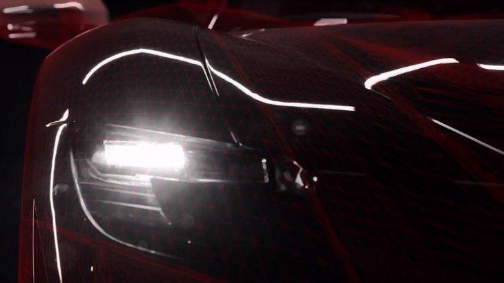 Ferrari показала финальный тизер нового суперкара с гибридным двигателем