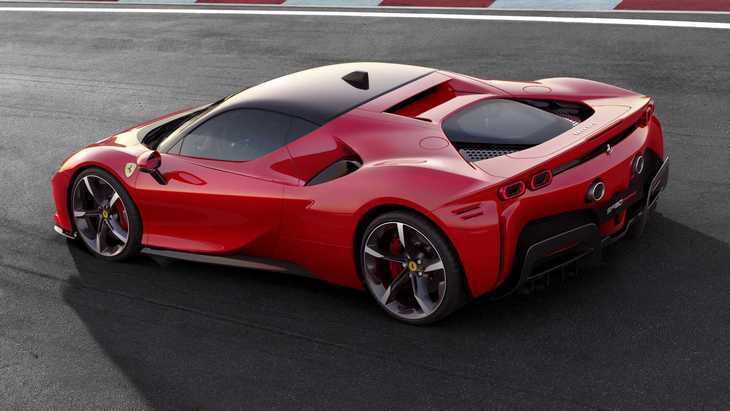 Официально. Ferrari представила гибридный суперкар SF90 Stradale