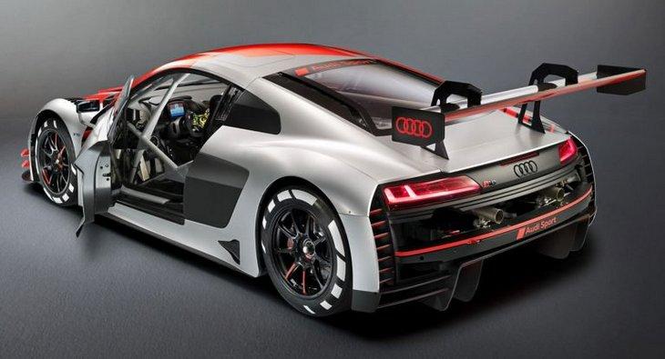 Audi выпустит дорожную версию хардкорного R8 GT3