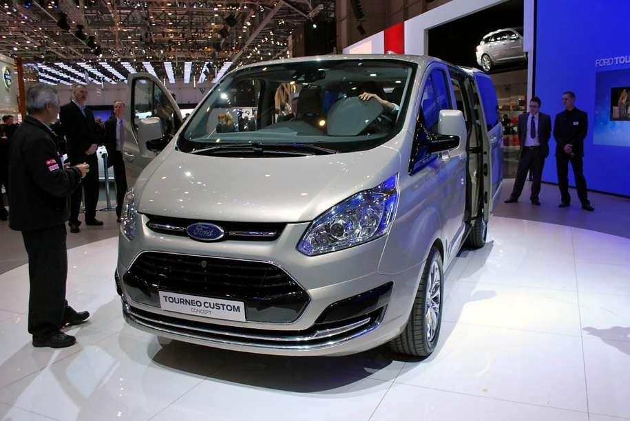 Ford tourneo фото 10